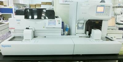全自動血球測定・塗抹標本作成装置